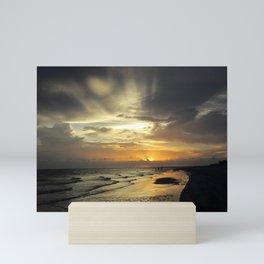 Sanibel Sunset Mini Art Print