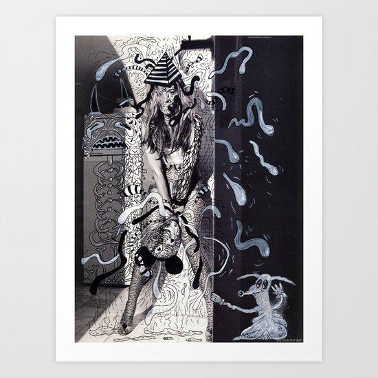 Psychoactive Bear 5 Art Print