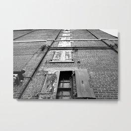 Vertical Hinge Metal Print