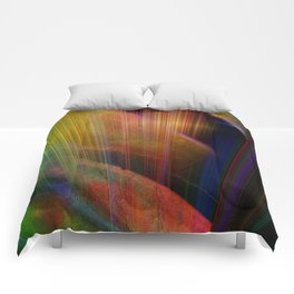 Multicolored abstract no. 73 Comforters
