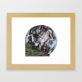 Ride Away Framed Art Print