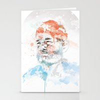 murray Stationery Cards featuring Bill Murray by I AM DIMITRI