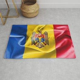 Moldova Flag Rug
