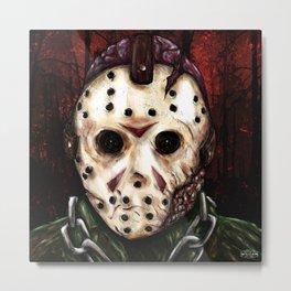 Jason Voorhees - Friday the 13th Metal Print