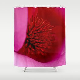 Fluoro Flora Shower Curtain