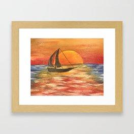 Charmed Bay Framed Art Print