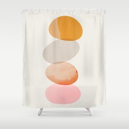 Abstraction_Balances_005 Shower Curtain