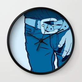 Jeans Wall Clock