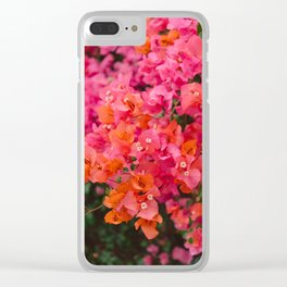 California Blooms XII Clear iPhone Case