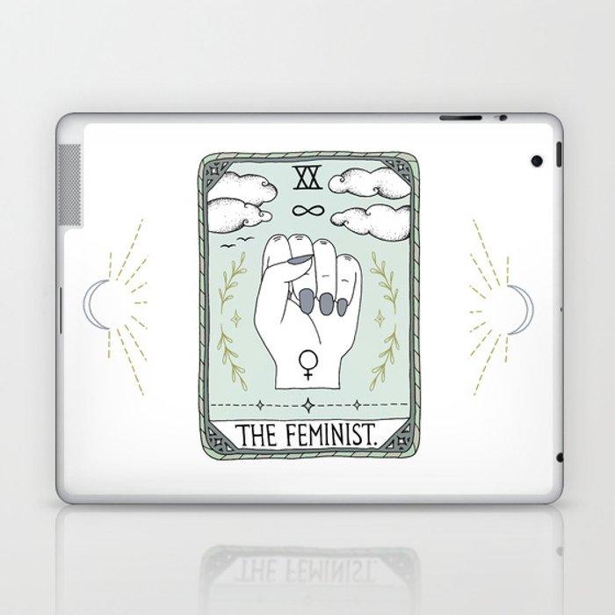 The Feminist Laptop & iPad Skin