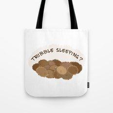 Tribble sleeping Tote Bag