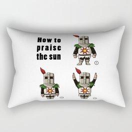 How to praise the sun Rectangular Pillow