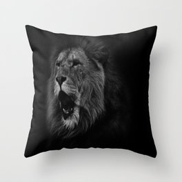 Roaring Throw Pillow