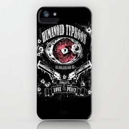 Humanoid Typhoon iPhone Case