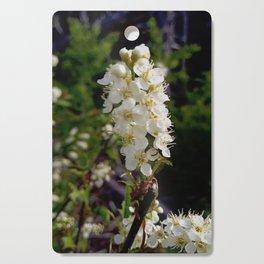 Blooming Chokecherry Stalk Cutting Board