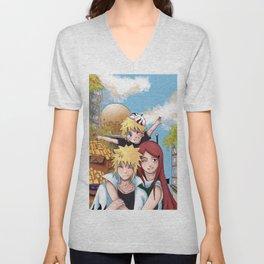 Naruto Family Unisex V-Neck