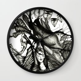 La Virgen Negra Wall Clock