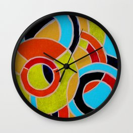 Composition #22 by Michael Moffa Wall Clock