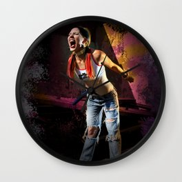 Primal Scream Wall Clock