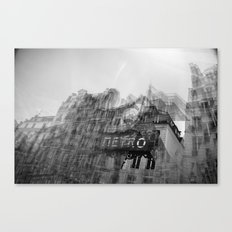 how it feels to say goodbye Canvas Print