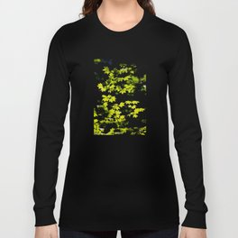 late summer sunny maple leaves Long Sleeve T-shirt