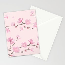 Cherry Blossom - Pink Stationery Cards