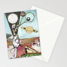 Exploration: Space Age Stationery Cards