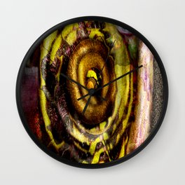 Coiled  Wall Clock