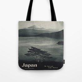 Vintage poster - Japan Tote Bag