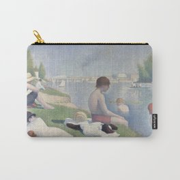 Bathers at Asnières Carry-All Pouch