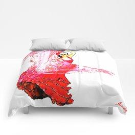 Bailarina Española ( Spanish Dancer ) Comforters