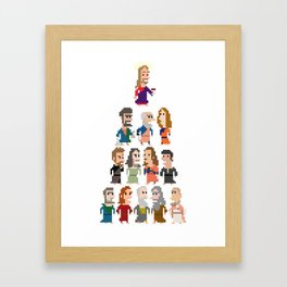 Jesus and the Apostles Iotacons Framed Art Print