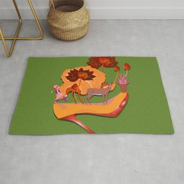 Shoes with kids Rug
