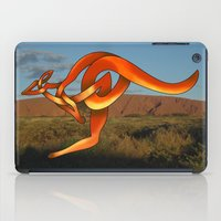 kangaroo iPad Cases featuring Kangaroo by Knot Your World