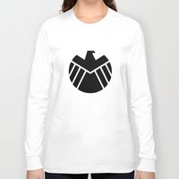 agents of shield Long Sleeve T-shirts featuring SHIELD by Merioris