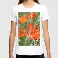 poppy T-shirts featuring Poppy by Falko Follert Art-FF77