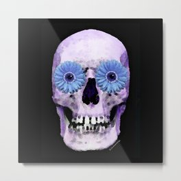 Day Of The Dead 2 by Sharon Cummings Metal Print