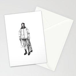 Bomber jacket Stationery Cards