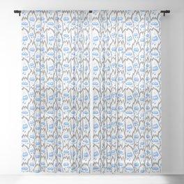 Yetis Sheer Curtain