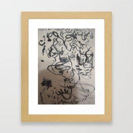 lines number 3 Framed Art Print