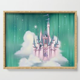 Star Castle In The Clouds Serving Tray