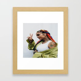 Kehlani 27 Framed Art Print