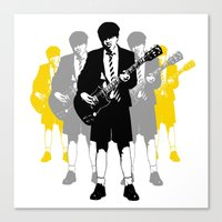 acdc Canvas Prints featuring Taking The Lead by Alan Hogan