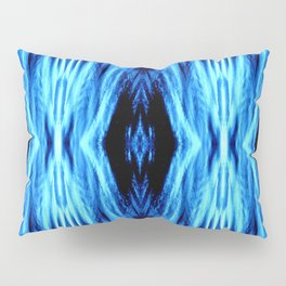 Electric Blue Abstract Pillow Sham