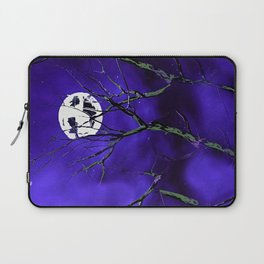 Tree Branches and a Silver Moon Laptop Sleeve