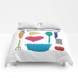 Palatable Printmaking Comforters