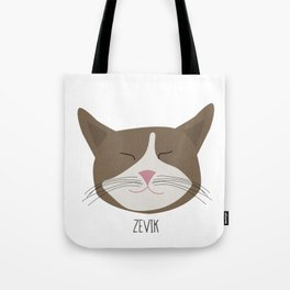 Family Cat Portraits, Zevik Tote Bag