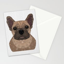 Fawn French Bulldog Stationery Cards