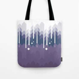 Mountains Abstract Tote Bag
