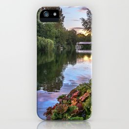 The Thames At Pangbourne iPhone Case